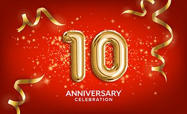 Celebrating Ten Years!